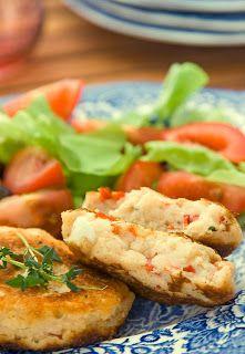 Kotleciki z serem feta i papryką | kornik w kuchni