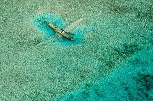 Plane in the Bermuda Triangle