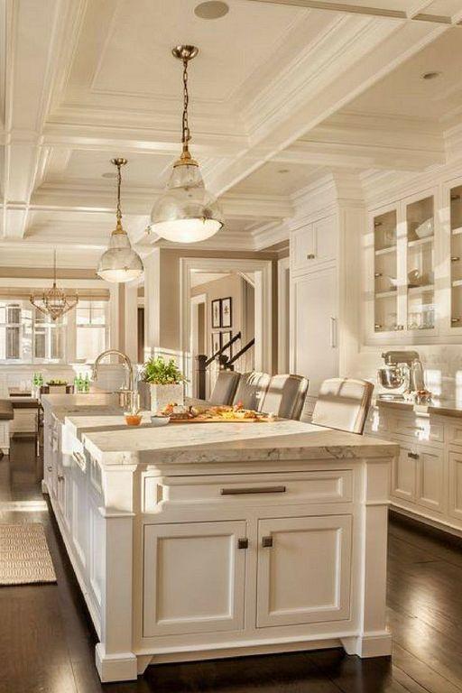 40 Modern Classic Kitchen Design Ideas To Inspire You Elegant Kitchen Design Elegant Kitchens Luxury Kitchen Design