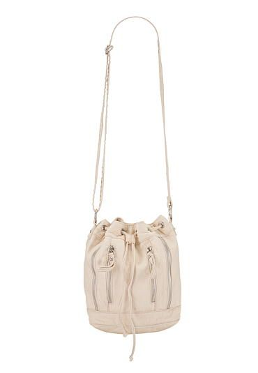 crossbody bucket bag with zippered front #maurices