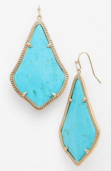 turquoise jewellery earrings