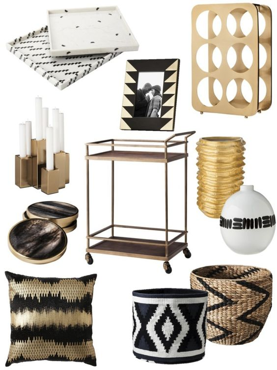 Target fall collections and brass bar cart on pinterest Target fall home decor