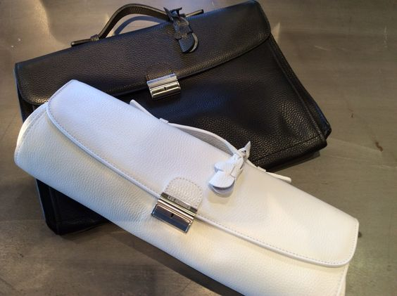 Les Hommes convertible clutch/briefcases in ELITE Man in Puerto Banús! http://www.elitestore.es/les-hommes/