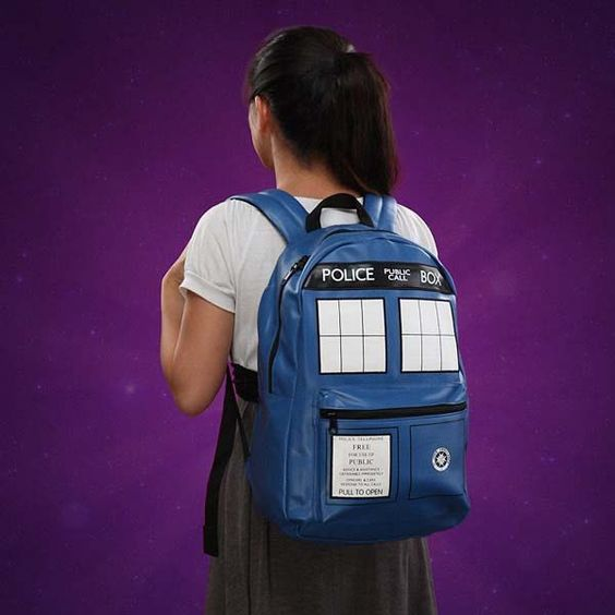 Doctor Who TARDIS Inspired Backpack