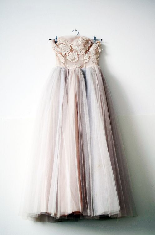 Fairytale wedding dress.