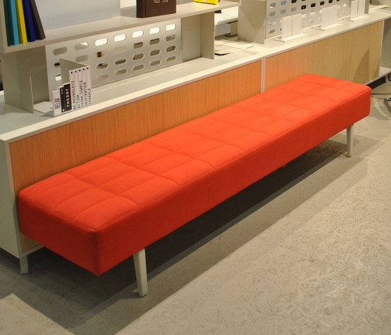 Upholstered benches | Seating | Greta Bench | Nurus | Nurus D. Check it out on Architonic