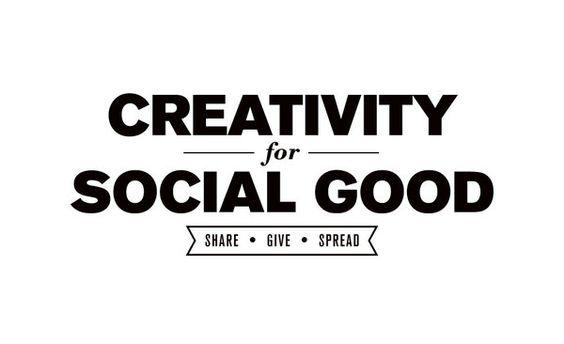 Using creativity for good...
