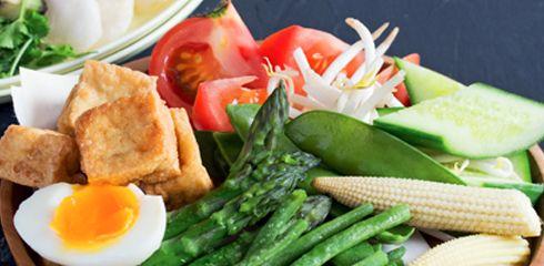 GADO-GADO, légumes croquants sauce cacahuète