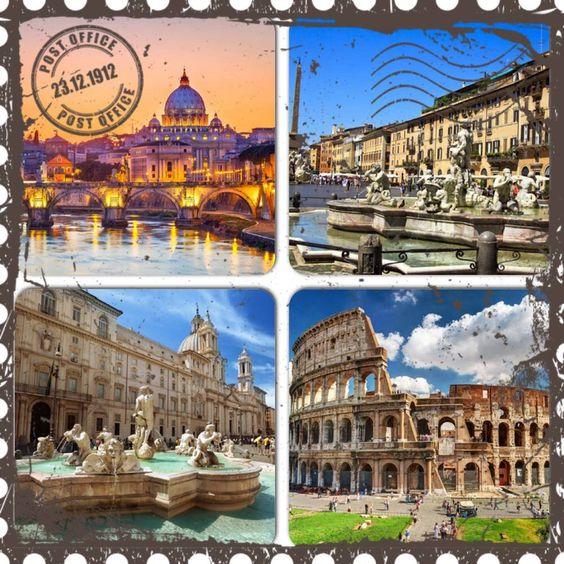 Feliz cumpleaños Roma, Italia