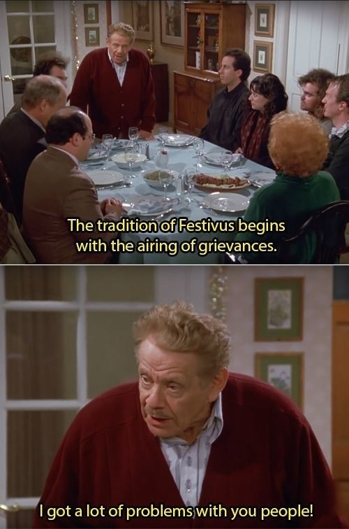 This Is A Post About Nothing Seinfeld Quotes Seinfeld Funny Seinfeld