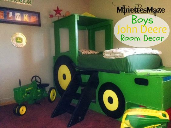 Boys John Deere Room Decor Perfect For Your Little Farmer