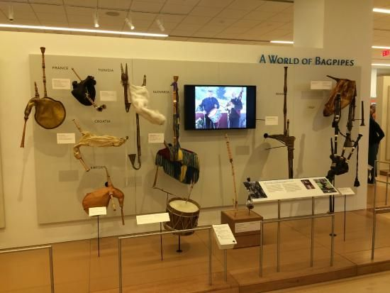 Musical Instrument Museum - Visitors are supplied with audio equipment and there are a lot of videos of people--famous and not--playing the instruments shown.