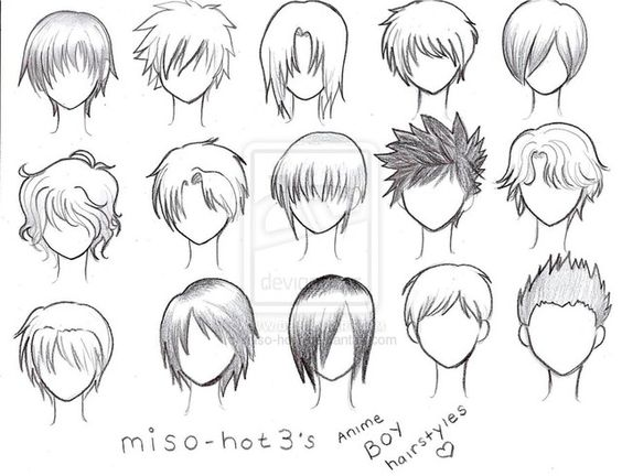 Pleasant How To Draw Hairstyles And Drawings Of Hair On Pinterest Short Hairstyles Gunalazisus