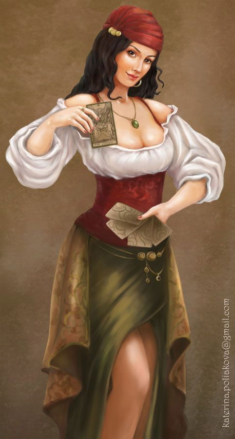 Gypsy by pearl-of-light.deviantart.com on @DeviantArt: