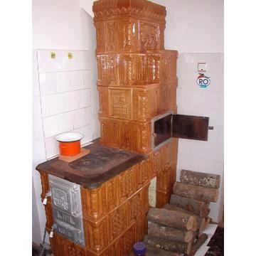 Soba de teracota cu plita si minicuptor romania for Dedeman sobe teracota cu plita