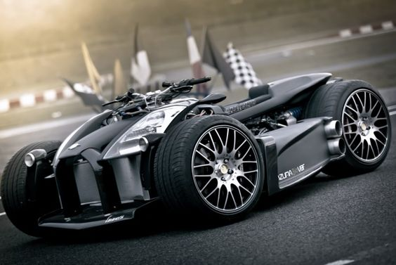 The Wazuma V8F 4Wheeler Has A V8 Ferrari Engine & BMW M3 Gearbox! So Fast And So Cool!!