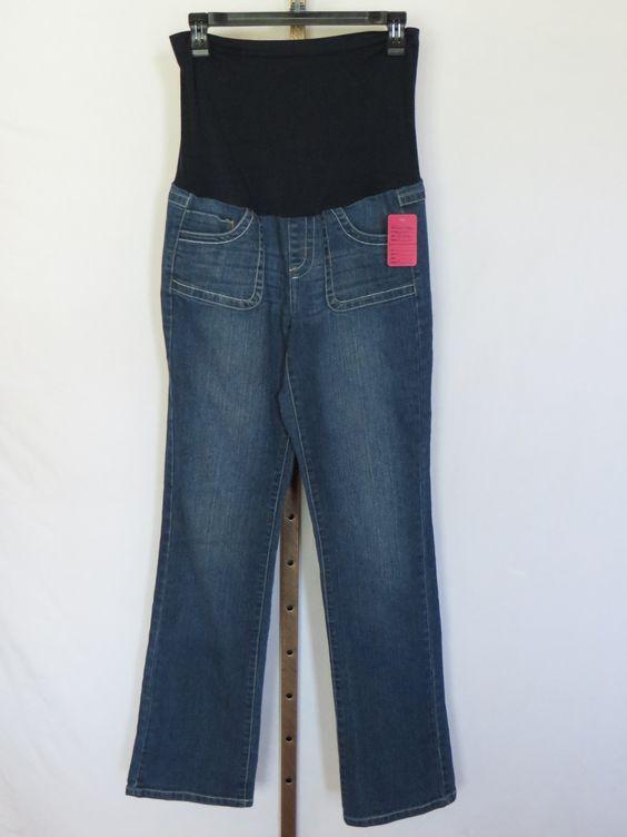 Bella Vida Maternity Full Panel 5 Pocket Jeans