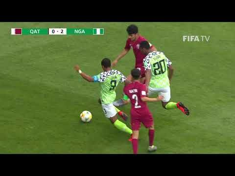 Match Highlights Qatar Vs Nigeria Fifa U 20 World Cup Poland 2019 With Images Match Highlights Fifa World Cup