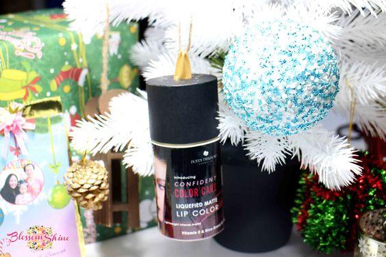 Confident Color Care - Liquefied Matte Lip Color by Poppy Dharsono