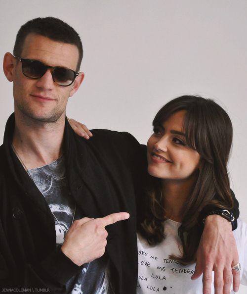 Jenna Louise Coleman & Matt Smith