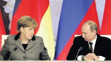 Merkel is klaar met Poetin Antoine Verbij − 22/11/14, 10:32 - TROUW