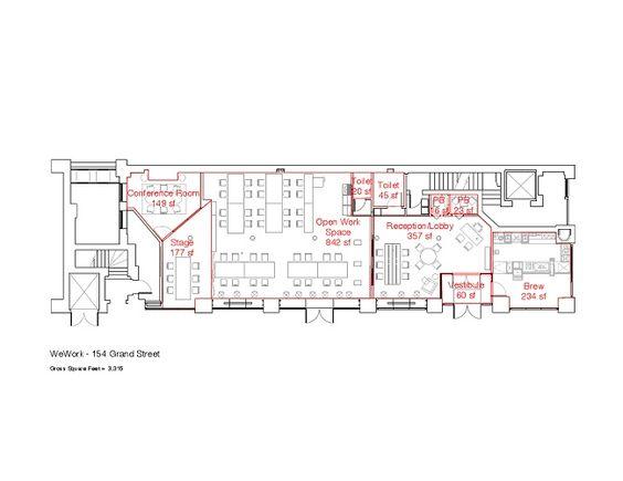 Creative Office Floor Plans: We Work Floor Plan - Google Search