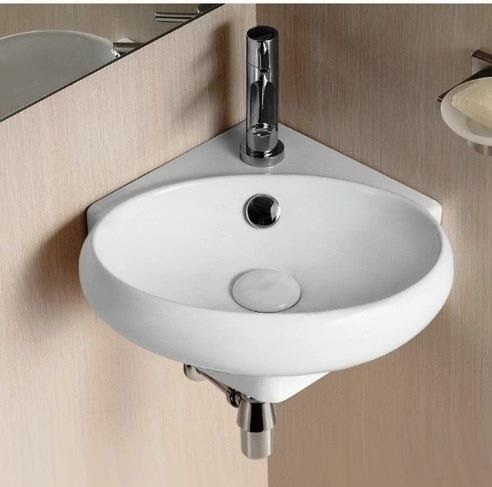 Corner bathroom sinks small corner and bathroom sinks on - Small corner bathroom sinks ...