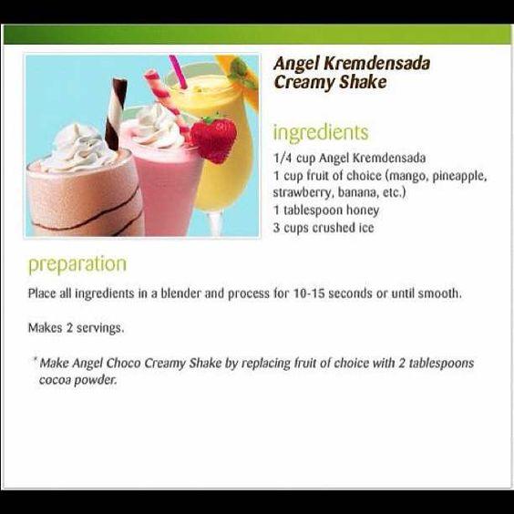 Angel Kremdensada creamy shake #iloveangelmilk #salad #salad #fruit #summer #recipe #recipebook   #recipeofthe  http://whosin.com/recipes