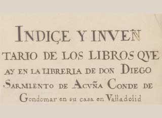 Resultado de imagen de Ex Bibliotheca Gondomariensi