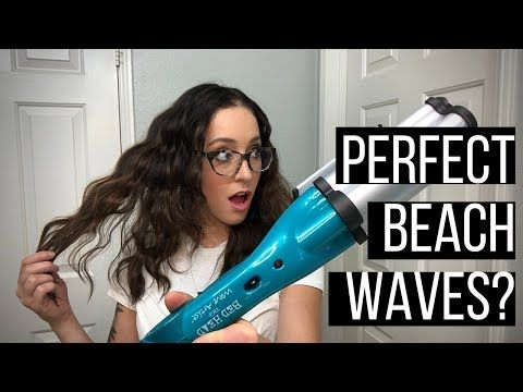 Easy Beach Waves W The Bed Head Wave Artist Review And Tutorial Hairstylist Review Youtube Bed Head Wave Artist How To Wave Your Hair Hair Waver Iron