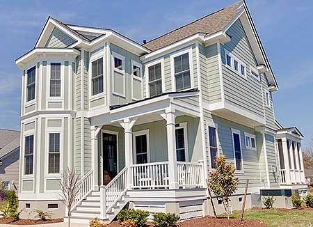 Front side load garage house plans home design and style for Side load garage house plans