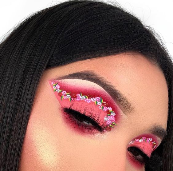 25 Best Flower Inspired Eyeshadow Looks Maybe A Makeup Addict