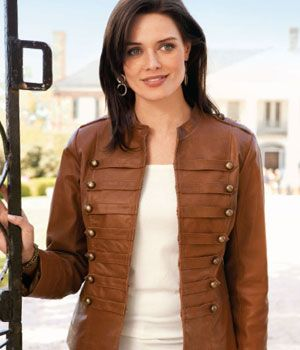 Brown jackets for ladies | Your fashionable jacket photo blog