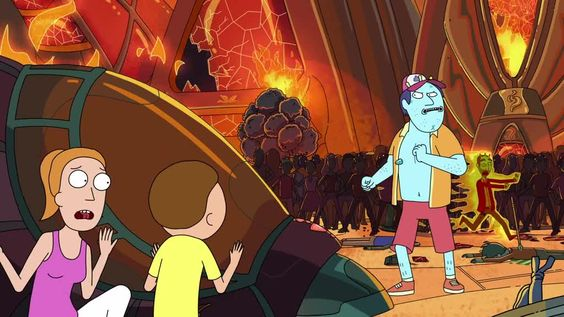 Rick and Morty Season 2 Episode 3 Auto Erotic Assimilation | Watch cartoons online, Watch anime online, English dub anime