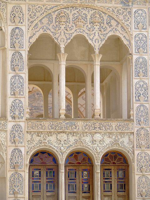 "Khaneh Tabatabaei-ha (""The Tabatabaeis' House""), Kashan, Isfahan prov, Iran:"