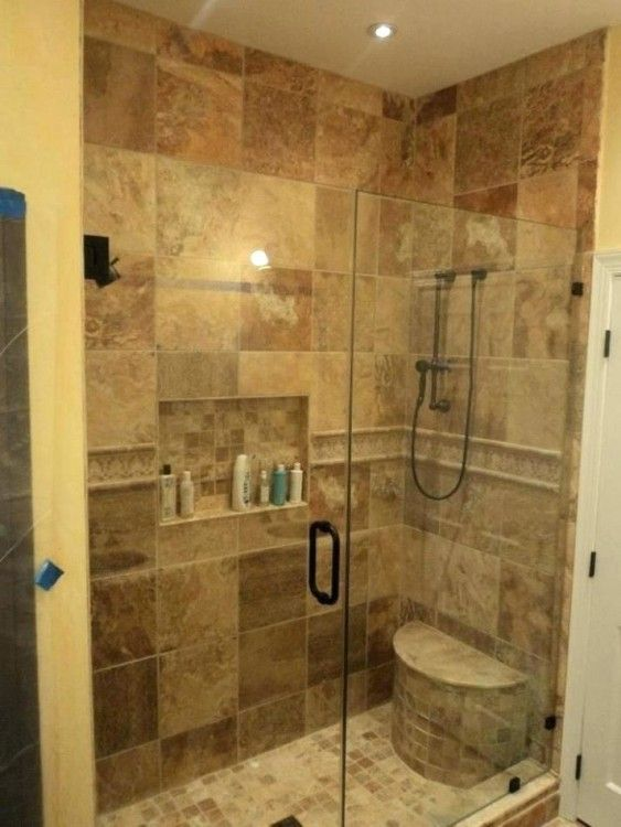 Stand Up Shower Ideas For Small Bathrooms Master Bathroom Shower Bathroom Stand Small Bathroom Diy