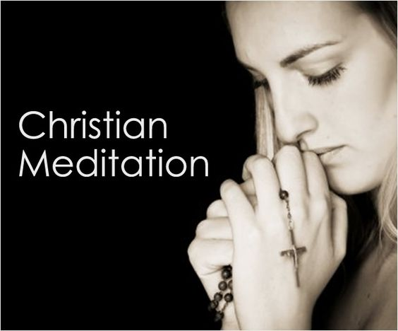 For Christian meditation, one has to go through the Bible. One has to read between the lines of the Holy Book, in order to understand the deeper meaning.