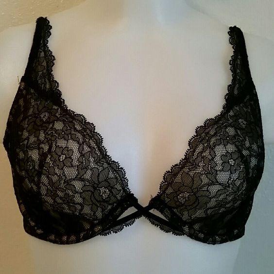 VICTORIA'S SECRET BRA New. Black lace.  The olny tag is the one shown in pic. 4. Victoria's Secret Intimates & Sleepwear Bras
