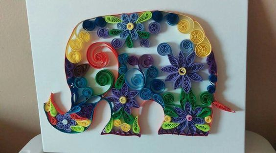 Paper Quilling by Brunny