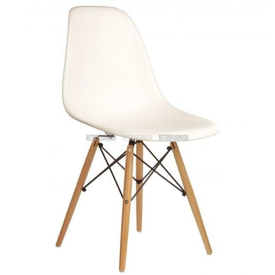 DSW ABS Stuhl weiß