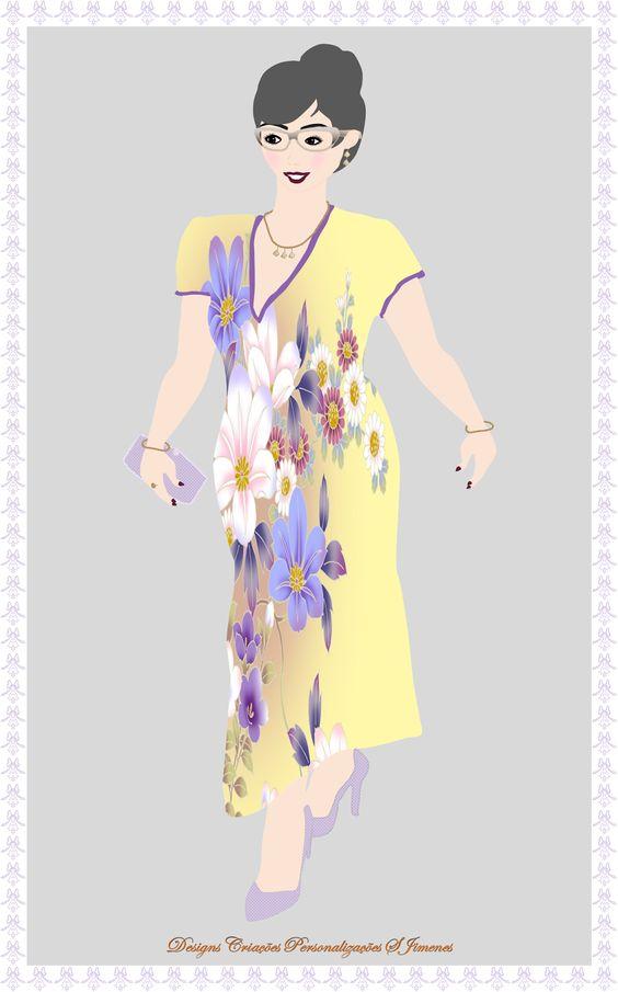 Criando e Personalizando: Design Arte Digital Mascote Feminino