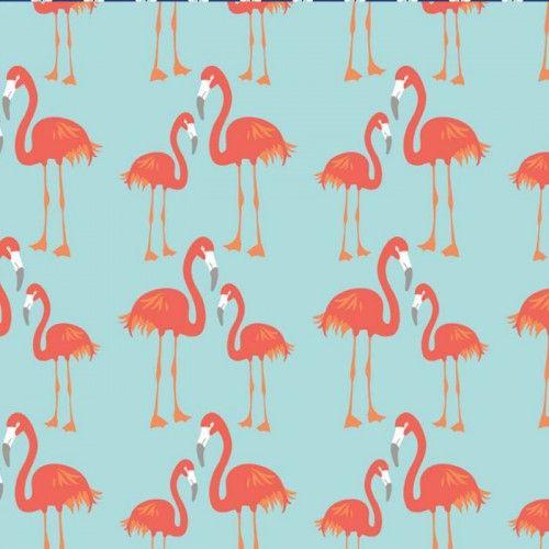 Sjieke Biele - lula flamingo blauw