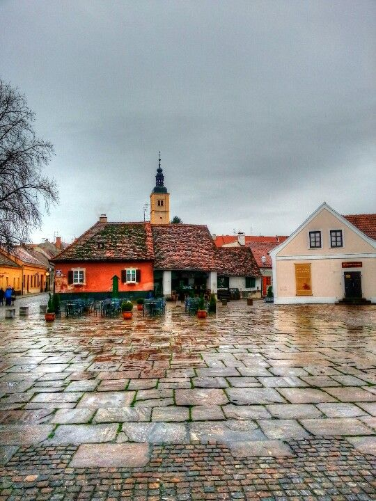 Square in #Varazdin.
