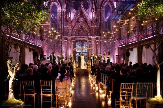 Angel Orensanz: New York Winter Wedding | Matthew Robbins Design