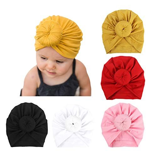 Kids Baby Girls Toddler Knit Turban Hair Band Headwear Winter Accessories Xmas