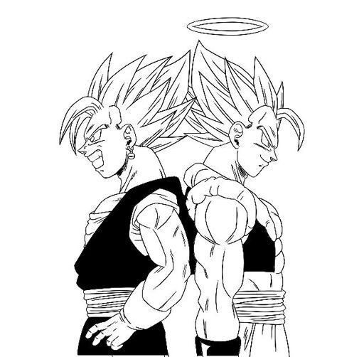 Pin By Stacey Green On Vegito Gogeta Dragon Ball Super Manga Dragon Ball Art Dragon Ball Super Art