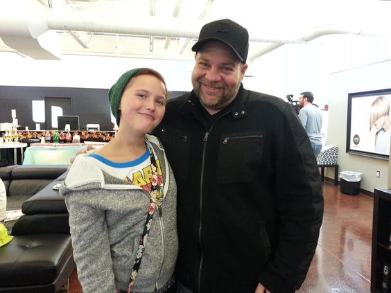 GM Craig Posegay with Elise from Wish Upon A Teen. www.onesalonlife.com