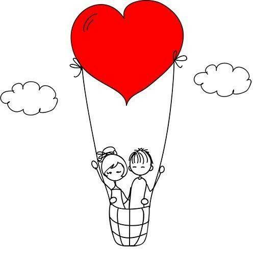 Pin De Anna Kaynara En Ilustracoes Delicadas Dibujos De Amor Dibujos Garabatos De Amor