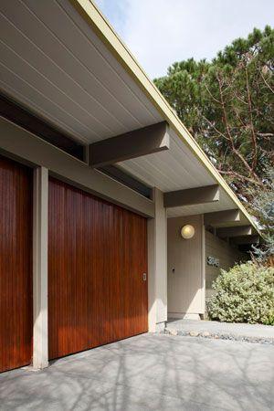 Garage doors secret design studio knows mid century for Mid century modern garage