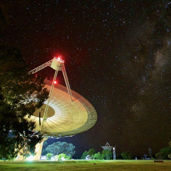 رادیو تلسکوپ پارکز در رصدخانه پارکز در نیو ساوت ولز